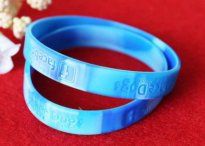 PMS Matching Rubber Support Bracelets Depressed Logo Process Waterproof